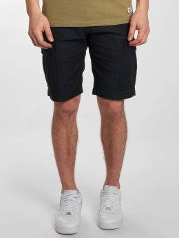Vintage Industries shorts Kirby blauw