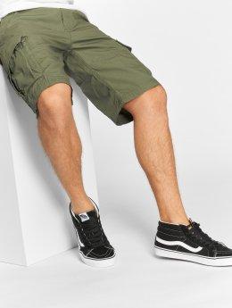 Vintage Industries shorts Terrance olijfgroen