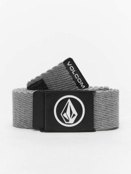 Volcom Belts Circle Web grå