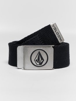 Volcom Belts Circle Web svart