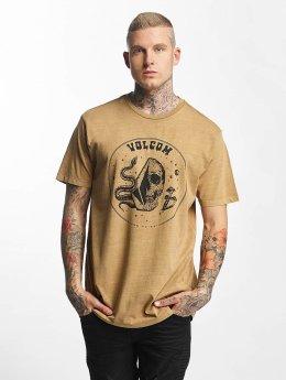 Volcom Camiseta Trippin caqui