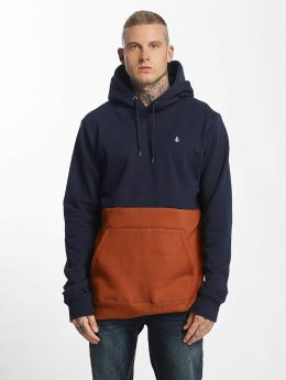 Volcom Hoodie  Single Stone Division blue