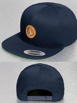 Volcom Snapback Cap Quarter blau