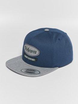 Volcom Snapback Cap Cresticle blau