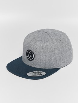 Volcom Snapback Caps Quarter Twill vihreä