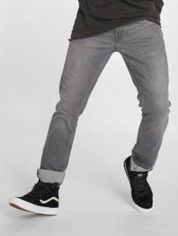 Volcom Straight Fit Jeans Vorta šedá