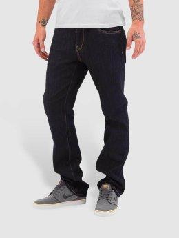 Volcom Straight fit jeans Kinkade blauw