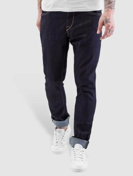 Volcom Straight fit jeans 2x4 Denim blauw