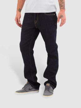 Volcom Straight Fit Jeans Kinkade blue