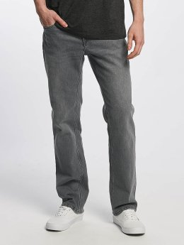 Volcom Straight Fit Jeans Solver Denim  gray