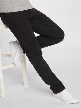 Volcom Straight Fit Jeans Solver Denim sort