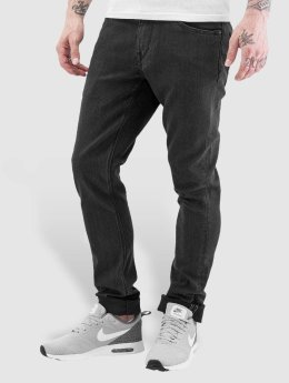 Volcom Straight fit jeans 2x4 Denim zwart