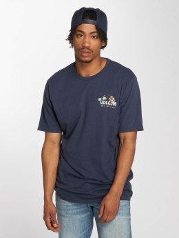 Volcom T-Shirt El Loro Loco blau