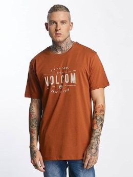 Volcom T-Shirt Garage Club brun