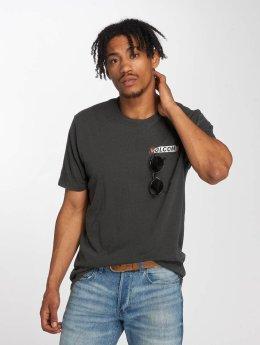 Volcom T-Shirt Rebel Radio grau