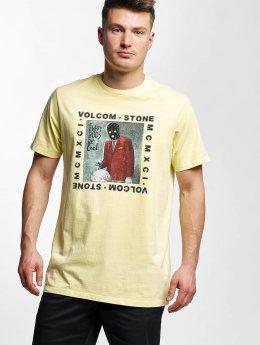 Volcom T-Shirt Scarro jaune