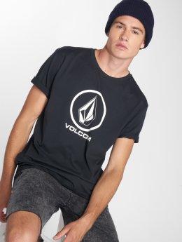 Volcom T-Shirt Crisp Stone Bsc Ss noir