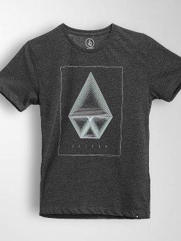 Volcom T-Shirt Concentric Hth schwarz