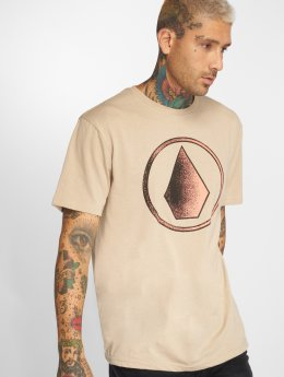 Volcom T-shirts Removed beige