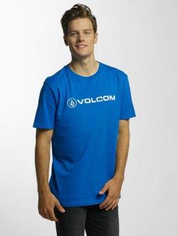 Volcom T-shirts Line Euro Basic blå