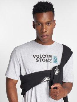 Volcom T-shirts Stence Bsc Ss grå
