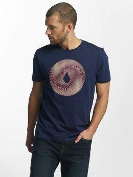 Volcom T-shirts Solarize Basic indigo
