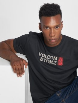 Volcom T-shirts Stence Bsc Ss sort