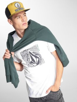 Volcom T-Shirty Stonar Waves Dd Ss bialy