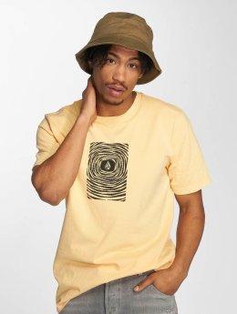 Volcom T-skjorter Engulf gul