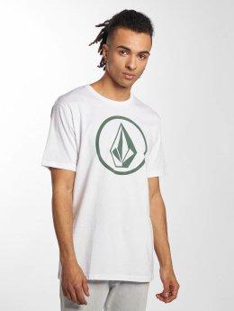 Volcom T-skjorter Circle Stone hvit
