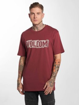 Volcom T-skjorter Edge Basic red