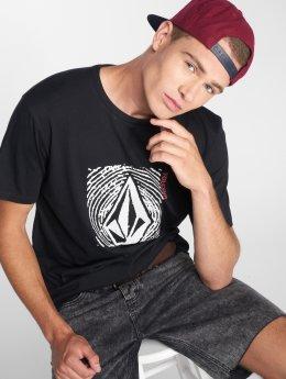 Volcom T-skjorter Stonar Waves Dd Ss svart