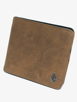 Volcom Wallet Pu L brown