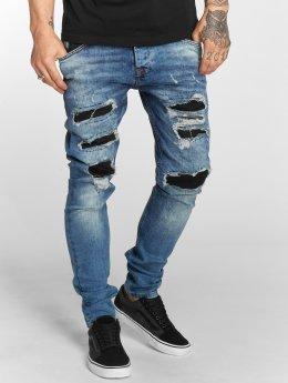 VSCT Clubwear Облегающие джинсы Hank Customized синий