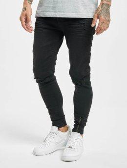 VSCT Clubwear Облегающие джинсы Keanu  черный