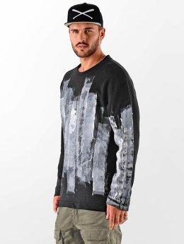 VSCT Clubwear Пуловер Painted черный