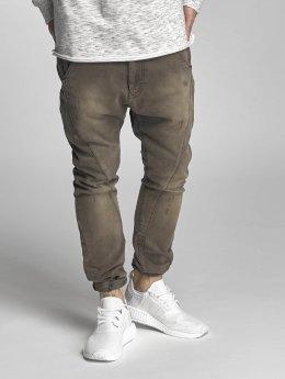 VSCT Clubwear Antifit-farkut Logan Tri-Star khakiruskea
