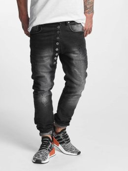 VSCT Clubwear Antifit Drake Asym Buttonfly zwart