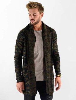 VSCT Clubwear Cardigan Open Knit kamouflage