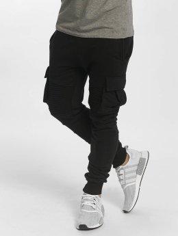 VSCT Clubwear Caleb Cargo Sweatpants Black