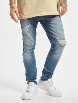 VSCT Clubwear dżinsy przylegające Thor Track niebieski