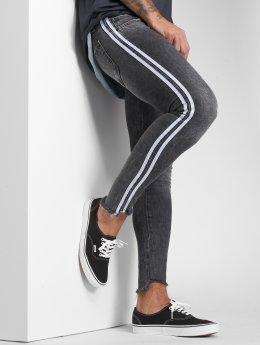 VSCT Clubwear dżinsy przylegające Knox Slim Track szary