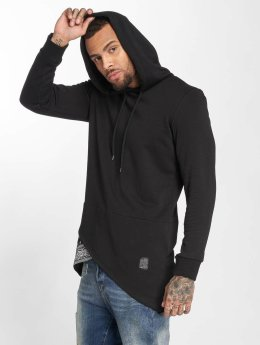 VSCT Clubwear Felpa con cappuccio Bandana Pennant Triangle nero
