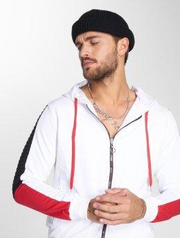 VSCT Clubwear Hoodies con zip Biker  bianco
