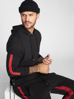 VSCT Clubwear Hoody Striped Laces zwart