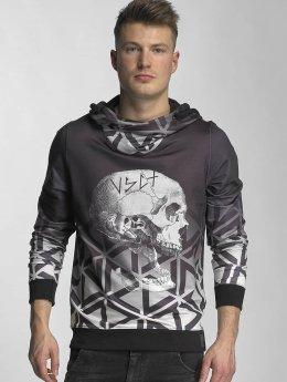 VSCT Clubwear Hupparit Twisted Skull Matix harmaa