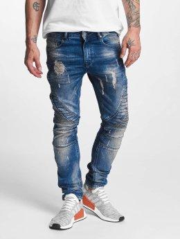 VSCT Clubwear Jean carotte antifit Ryder Biker Luxury bleu