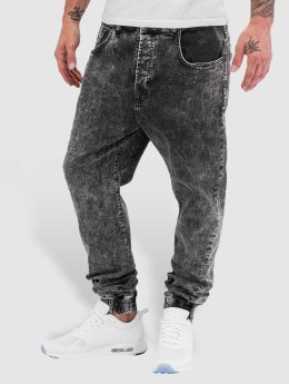 VSCT Clubwear Jean carotte antifit Noah Slim Anti Fit Cuffed gris