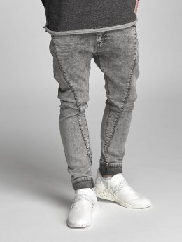 VSCT Clubwear Jean carotte antifit Logan Tri-Star gris