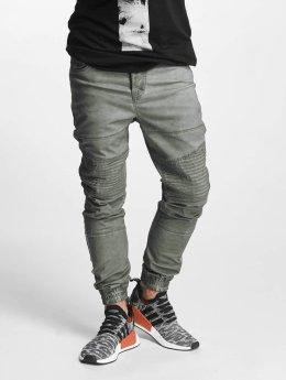 VSCT Clubwear Jean carotte antifit Noah Biker olive